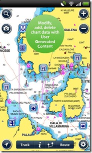 Carte nautiche android iphone