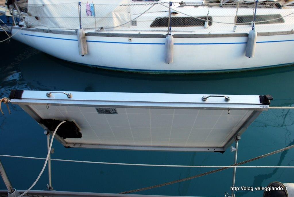 Pannello Solare Per Ricarica Batteria Barca : Come installare un pannello solare in barca