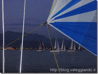 Il GS 40 in regata