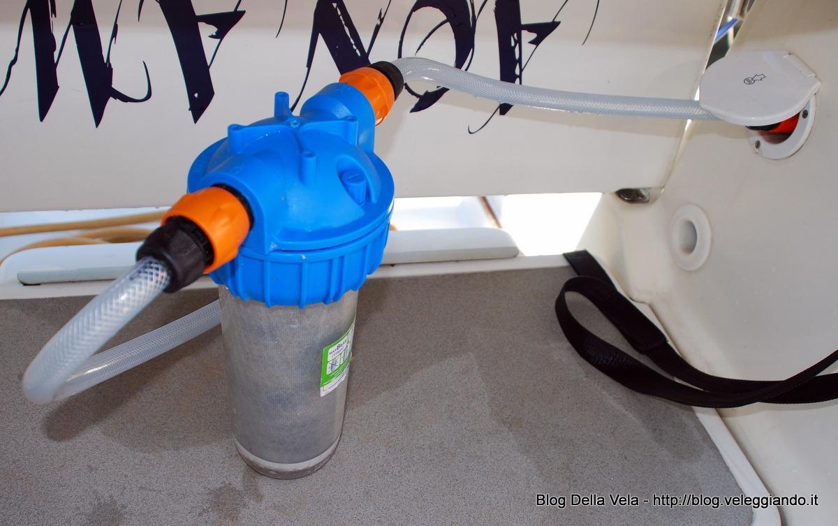 Installare un filtro a carboni attivi per l'acqua