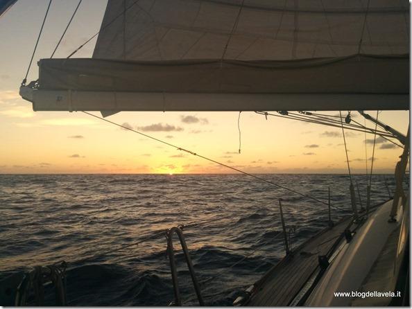 In navigazione con l'Aliseo