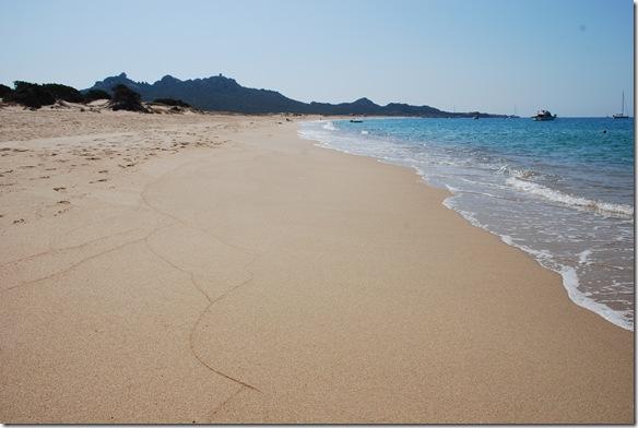 La spiaggia di Erbaju in Corsica