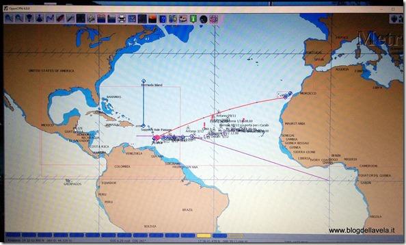 Mancano 500 miglia ai Caraibi