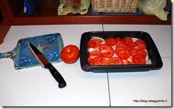 Preparazione pesce al forno