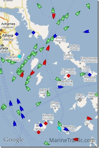 marine traffic Android