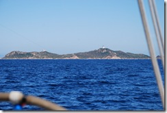 L'isola di Gran Sanguinaria lato sud